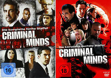 Criminal Minds - Die komplette 5. + 6. Staffel                       | DVD | 444