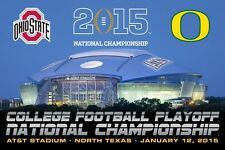 Ohio State Buckeyes 2015 NCAA College Football National Champions Print Poster