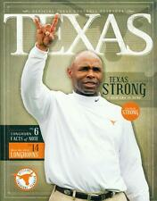 Texas Football  Magazine  UT Austin Longhorns Official Team Yearbook 2014