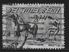 German Reich stamps 1921 MI 176I Unterdruck kopfstehend  CANC  Cat.Value $1650