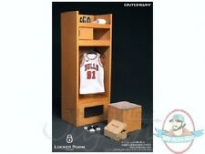 1/6 NBA Basketball Locker Room Locker for 12 inch Figures Enterbay