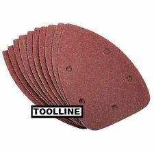 10 x Mouse Sanding Sheets to Fit Black and Decker Detail Sander KA160/1 240 grit