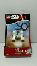 STAR WARS LEGO R2-D2 LIGHT UP KEY RING FIGURE