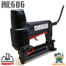 Maestri ME606 Electric Divergent Tacker / Nailer / Stapler (606 Floor Laying)