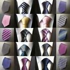 Elegant 11 Patterns 8CM Men's Classic Tie Silk Necktie Neckwear Jacquard Striped
