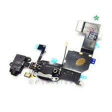 iPhone 5S Black USB Charger Dock Connector Charging Port Replacement Part USA