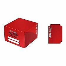 Porta Mazzo Ultra PRO Magic PRO DUAL Standard 180 Red Deck Box Rosso Carte MTG
