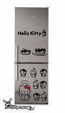 Pegatina vinilo decorativo Nevera Combi Vinyl sticker Hello Kitty Chef Cocina