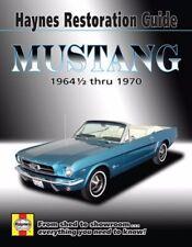 1964 1965 1966 1967 1968 1969 1970 Haynes Mustang Restoration Guide Manual 9570