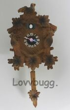 "Realistic Cuckoo Clock Mini German for 18"" American Girl Doll House Accessories"