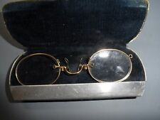 VINTAGE PINCH NOSE GLASSES SPECTACLES