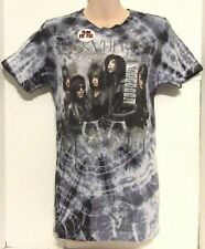 BLACK VEIL BRIDES HOT TOPIC CUSTOM MADE BLACK TIE-DYE T-SHIRT size X-SMALL #003