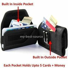 (A55) Pouch Holster Clip Wallet Style Case Cover For BLU Studio 7.0 II S480U