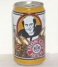 TERRY BRADSHAW PITTSBURGH STEELERS #12 IRON-MAN CAVE BEER CAN FOOTBALL NFL SPORT
