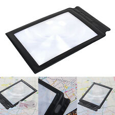 Magnifying Glass 3 Large Magnifying Glass Table Magnifying Glass Reading Aid New