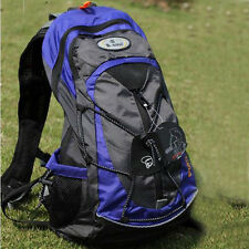 2015 Cycling Bike Bicycle Sports bag Backpack BLUE with Rain cover