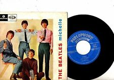 BEATLES EP PS Michelle PORTUGAL LMEP 1221 very rare NICE COVER Portuguese cover