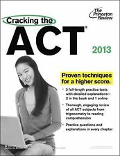 Cracking the ACT, 2013 Edition (College Test Preparation), Princeton Review, Goo