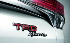 GENUINE TOYOTA CAR FORTUNER 2015-2016 ACCESSORY TRUNK TRD LOGO FOR 4X4 EDITION