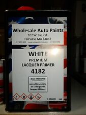 High Build Premium Acrylic Lacquer Primer White Gallon Fast Dry, Easy Sanding 1K