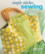 Simple Stitches: Sewing: 25 Projects for the New Stitcher-ExLibrary