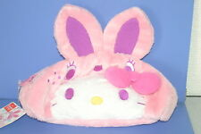SANRIO Hello Kitty Cat Colorful Bunny Pink Face Bag JAPAN