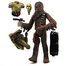 "Star Wars Saga Collection Chewbacca Cloud City Capture & C-3PO 4.0"" Figure Toy"