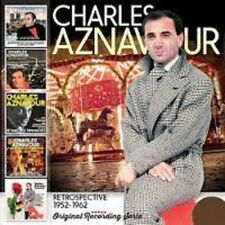 CHARLES AZNAVOUR Retrospective 1952-1962 5CD  beat pop