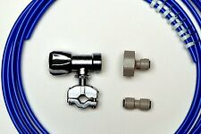 American Fridge Freezer Plumbing Kit 10M Pipe, Selfcut Valve, Adapter, Pipe Conn