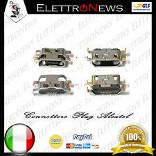 Connettore di ricarica plug Spinotto per Alcatel 6035R Idol S - VODAFONE VF895