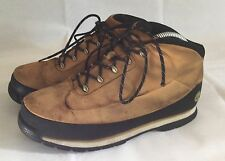Timberland mens brown black & white boots size 5