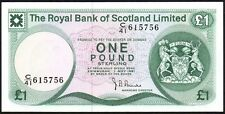 1981 ROYAL BANK OF SCOTLAND LIMITED £1 BANKNOTE * C/41 615756 * gEF *