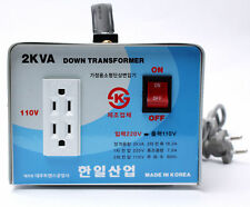Home Converter Step Down Voltage Transformer From 220V To 110V 2000W Korea BEE