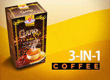 20 boxes Gano Cafe 3 In 1 Coffee Ganoderma Lucidum Reishi