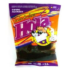3-pack Hola Sweet & sour Flavored Salted plum(Saladito Agridulce Net Wt 3oz each