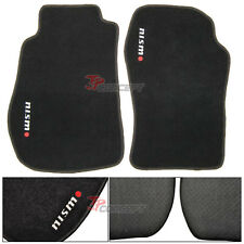 Fit 03-08 Nissan 350Z Z33 Black Nylon Floor Mats Carpets
