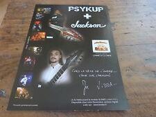 JU & VIDDA - Publicité de magazine / Advert JACKSON !!!