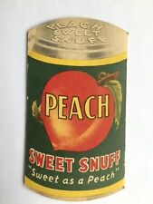 Vintage* Peach Sweet Snuff Note Pad By American Snuff Co.