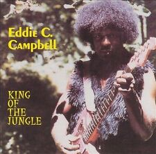 EDDIE C. CAMPBELL - King Of The Jungle CD ** Excellent Condition RARE **