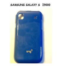 Custodia cover SILICONE Tpu CASE JELLY PER SAMSUNG GALAXY S I9000 BLU