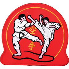 EMBROIDERED BADGE - KARATE RED FIGHTERS