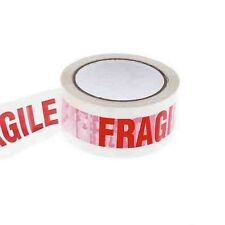 """6 Fragile printed Low noise packaging tape size 2"""" X 66M"""