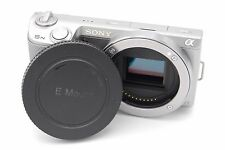 Sony Alpha NEX-5N 16.1 MP Digital Camera - Silver (Body Only)