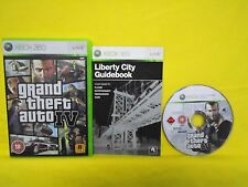 Xbox 360 GRAND THEFT AUTO IV 4 Game *COMPLETE with MANUAL* PAL