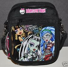 MONSTER HIGH CAMERA BAG MINI MESSENGER LANYARD CROSSBODY DJ BAG TOTE COIN BAG