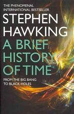A Brief History Of Time by Stephen Hawking Paperback Book (English)