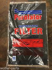 "24 EACH -  Purolator C.Y.U.  15"" X 24"" ROOM AIR CONDITIONER WASHABLE FOAM FILTER"