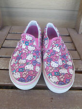 VANS Hello Kitty Canvas Slip On Sneakers Women's 7.5