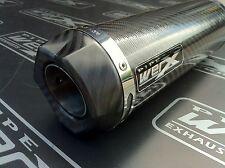 Kawasaki ZX9R C1-F2 98 - 04 Moto GP Carbon Fibre Carbon Outlet Race Exhaust Can