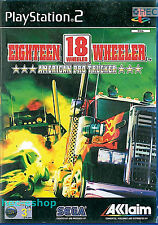 18 Wheeler American Pro Trucker  Sony Playstation 2 PS2 3+ Racing Game